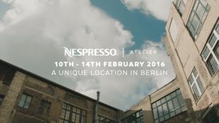 NESPRESSO - Atelier Film Berlin