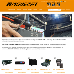 Movecat Online-Shop