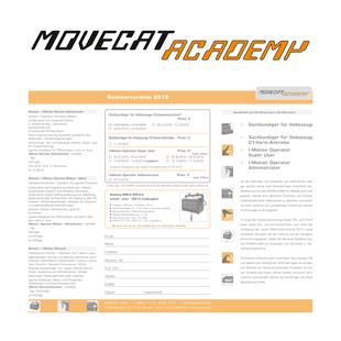 Movecat Academy Nufringen: Seminarangebote, Seminartermine und Seminaranmeldung