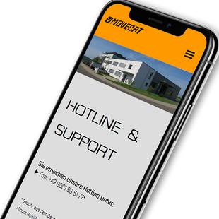 Movecat Nufringen: Hotline und Support