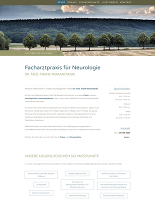 Website barsinghausen-neurologie.de
