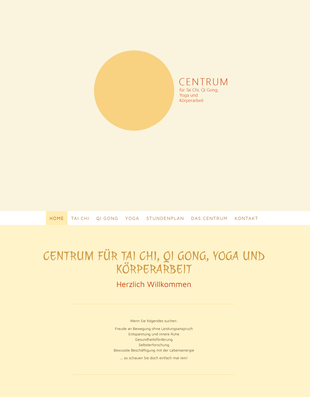 Website www.taijiquan-centrum.de