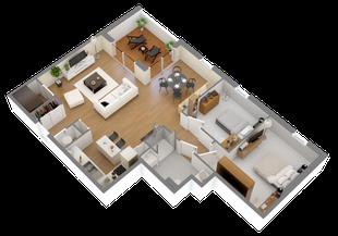 Appartement neuf sur mesure à Clisson