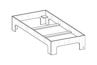 room³ Einzelbett ab 90 bis 140 cm Bettbreite