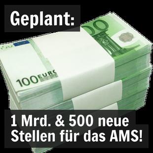 Ein Bündel 100-euro-Geldscheine