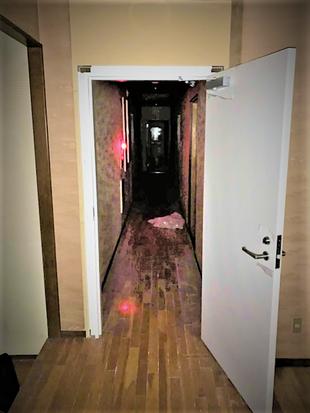 防火扉の設置工事