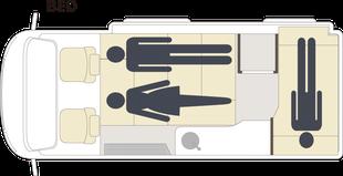 GT-ベッド フロアプラン