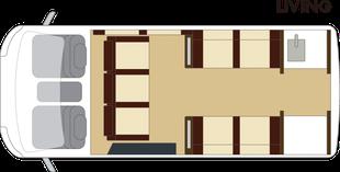 GLACIER-リビングフロアプラン