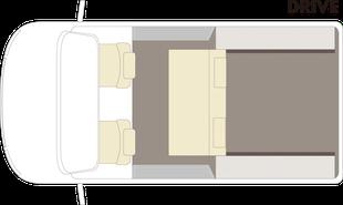 Tourdo Star-ドライブフロアプラン