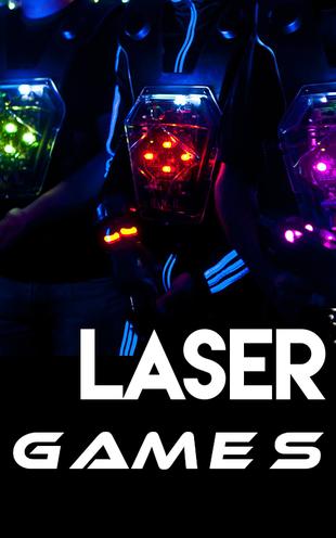 Bannière Laser Game