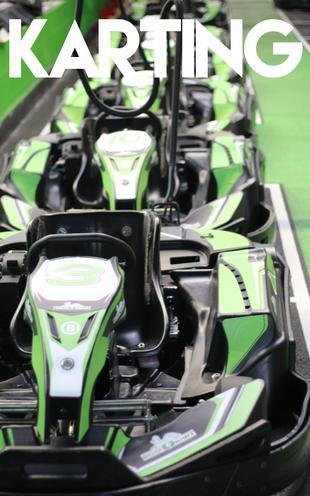 Bannière Karting Electrique