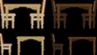 石岡市のテーブル、机などの家具処分