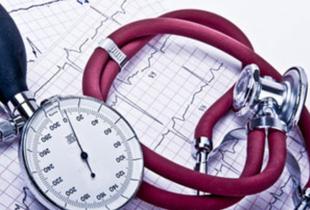 Ein Blutdruck-Messgerät