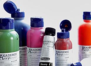 Acrylfarben zum Malen