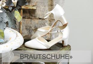 Brautschuhe in ivory