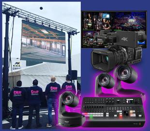 camera tourelle ptz Panasonic 130 tarbes Blackmagic atem television studio pro hd Tarbes