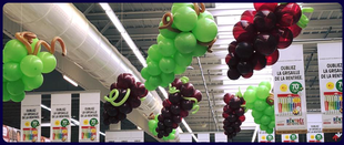 décoration ballons foire aux vins magasin