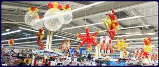 decoration ballon noel magasin
