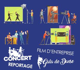 captation gala de danse concert film entreprise reportages clips teasers tarbes pau dax auch 65 64 40 32