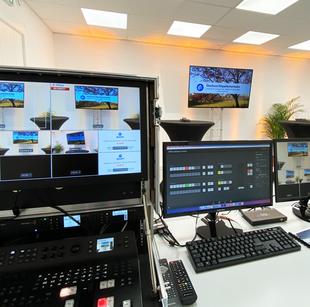 studio tv streaming election campagne electorale