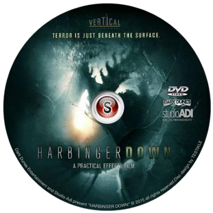 Harbinger down  - Cover DVD