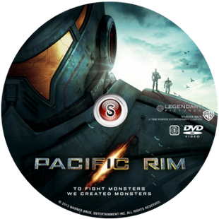 Pacific Rim Cover DVD