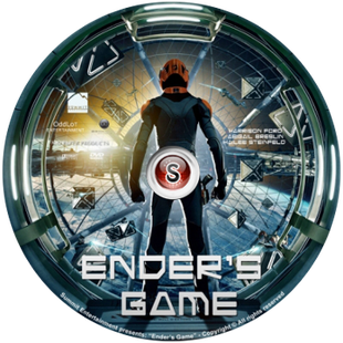 Ender's game Cover DVD