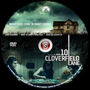 10 Cloverfield lane Cover DVD