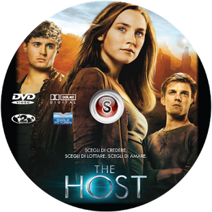 The Host Cover DVD