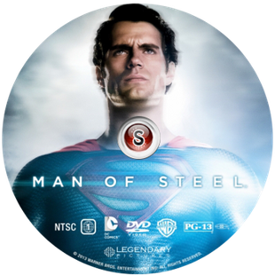 Man of steel Cover DVD
