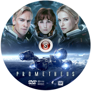 Prometheus Cover DVD