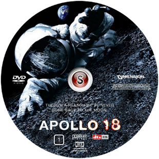 Apollo 18 Cover DVD