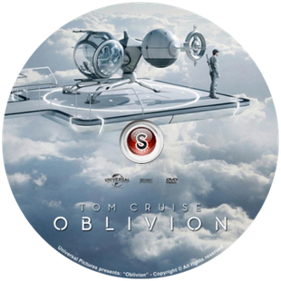 Oblivion Cover DVD