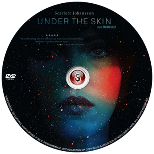 Under the skin Cover DVD