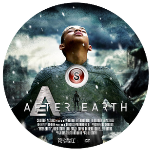 After Earth Cover DVD