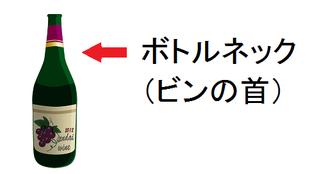 ボトルネック(ビンの首)