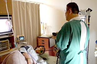 大分市ひらた医院の胃内視鏡検査