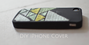 iPhone Cover sticken