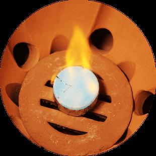 小田式ミニ蒸しかまど小 1.5合炊き・固形燃料1個