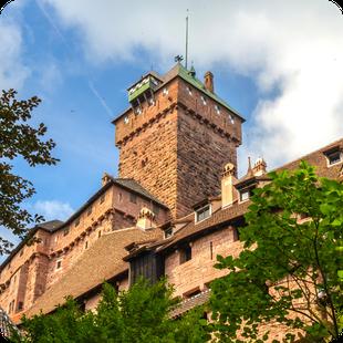 Tour del Castillo del Haut-Koenigsbourg en español