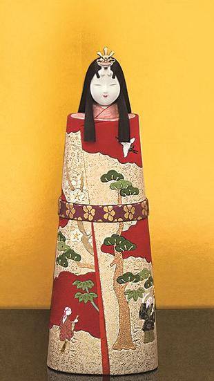 真多呂人形 本金 古代立雛(女雛)