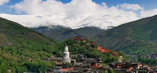 清涼山(五台山)文殊菩薩の聖地。2009年世界遺産登録(世界遺産オンラインガイドより)