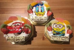 京都 イラストケーキ 似顔絵ケーキ 誕生日ケーキ 写真ケーキ