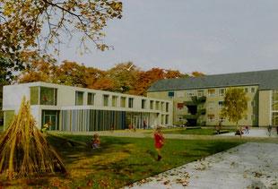 2,4 Mio. Euro für Neubau des Nordflügels an der 30. Grundschule