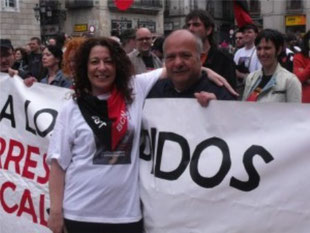 CGTs organisationssekretær i Barcelona Laura Gómez