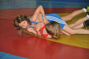 Meraner Sophia (Blau) gewann die Goldmedaille