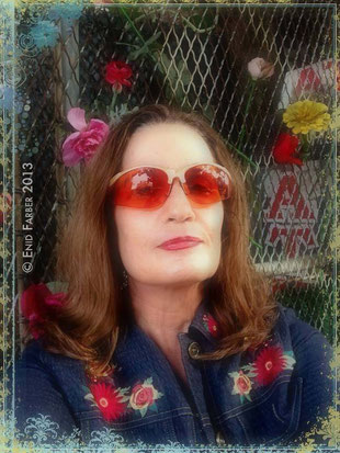 Enid Farber Jazz Music Photographer Jazz Journalist Jazz Portrait Photographer Hand-Colorist