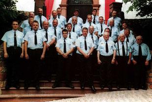 Die Mannschaft im Jahr 2003