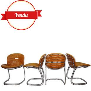 gastone rinaldi,chaises sabrina,majdeltier,lille,bondues,design des années 70