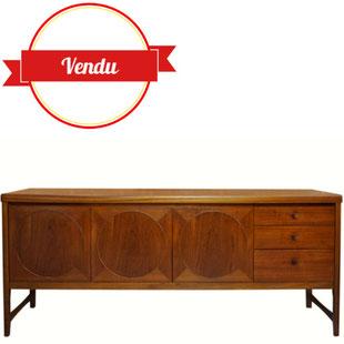 1960,enfilade en teck,enfilade scandinave,enfilade moderne,buffet,scandinave,vintage,teck,moderne,contemporain